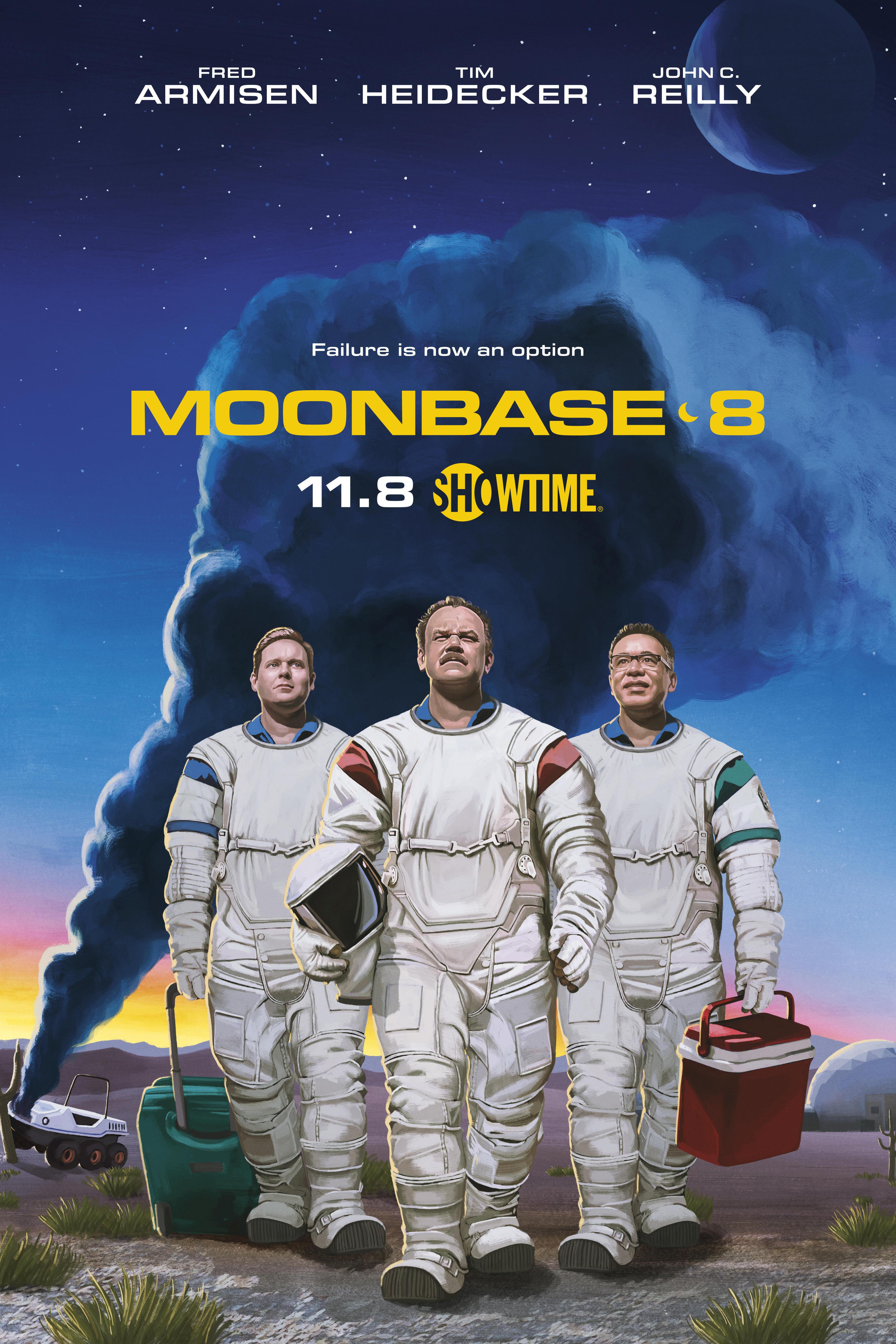 Moonbase 8 (έως S01E04)